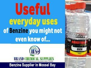 Useful everyday uses of Benzine you might not even know of