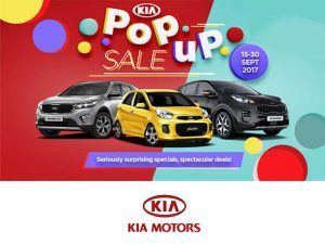 KIA Motors Pop Up Sale in George
