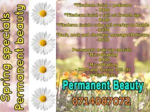 Spring Beauty Specials in Hartenbos