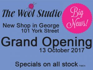 Grand Opening of the New Wool Studio in George