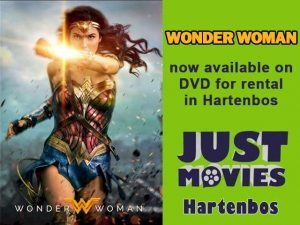 Wonder Woman Newly Released DVD in Hartenbos