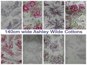 Poly Cotton and Ashley Wilde Cottons Available in George