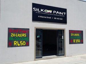 Silkon Paint