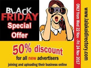 Black Friday Online Advertising Special Offer