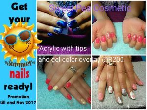 Get your Summer Nails in Mossel Bay