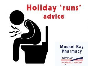 Mossel Bay Pharmacy gives advice regarding holiday 'runs'