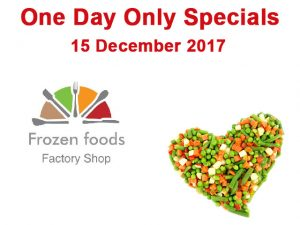 One Day Specials on Frozen Foods in George