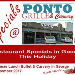 Dining Out at Ponto Grille and Carvery in George This Holiday