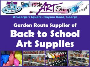 Back To School Art Supplies in George