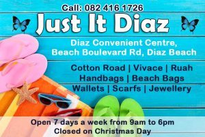 Gift Shop in Diaz Beach Mossel Bay
