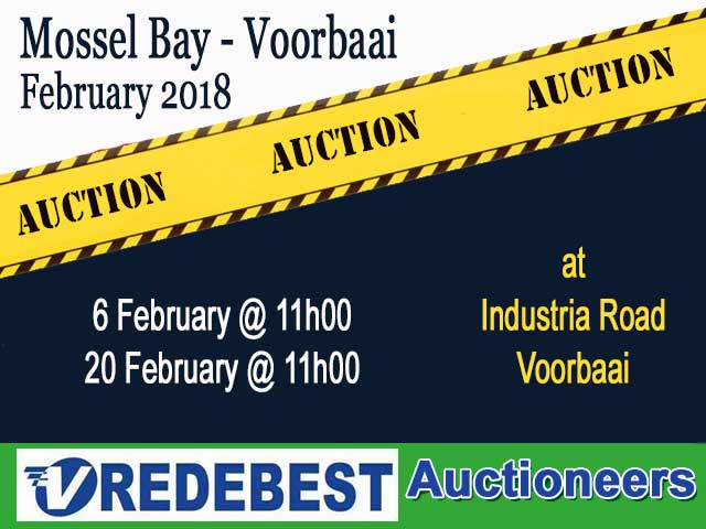 Auctions in Mossel Bay February 2018