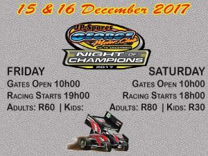 Night of The Champions – Great Racing in George