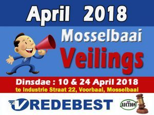 April Veilings in Mosselbaai