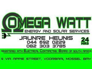 Omega-Watt-Energy-Mossel-Bay