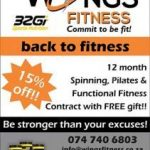 Wings Fitness Mossel Bay Gym Contract Special Offer