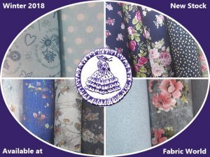 Winter 2018 Materials at Fabric World in George