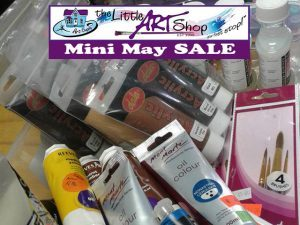 Mini May Sale at The Little Art Shop