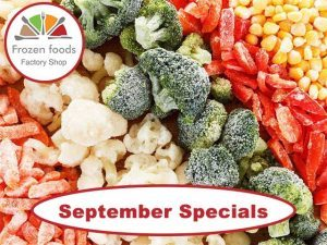 September Specials on Frozen Foods in George