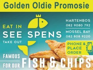 Golden Oldie Vis Promosie Hartenbos en Mosselbaai