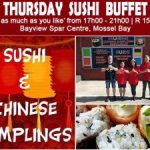 Sushi-Buffet-Special-Offer-Mossel-Bay