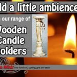 Wooden-Candle-Holders