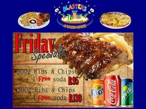 Blasters Family Entertainment Centre Specials Mossel Bay