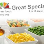March 2019 Specials at Frozen Foods Foods Factory Shop George