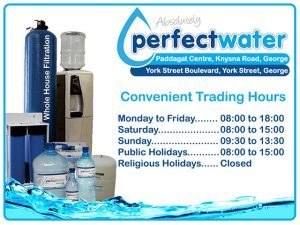 Purified Water Solution in George