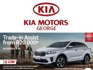 KIA George Sorento Trade-in Assist from R 20 000