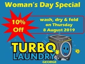 Turbo Laundry George Woman's Day Special