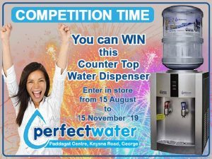 Win a Counter Top Water Dispenser from Perfect Water George