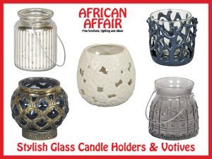 Supplier of Stylish Glass Candle Holders in South Africa