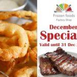 December Specials Frozen Foods