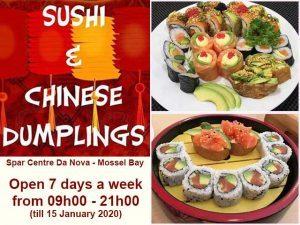 Sushi Mossel Bay Open