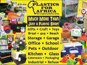 Get your Essential Supplies from Plastics for Africa in George