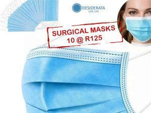 Surgical Masks in Stock at Desiderata in George