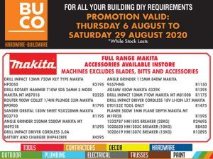 Buco George Building and DIY Promotion