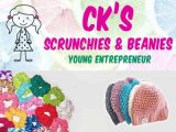 CK Scrunchies and Beanies