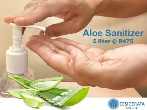 Aloe Based Hand Sanitizer in George