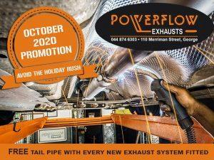 Powerflow October 2020 Promo
