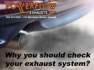 Check your exhaust system Powerflow