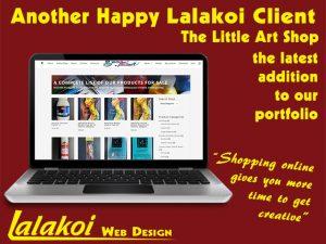 Lalakoi Web Design The-Little Art Shop