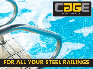 For all your steel railings Cage
