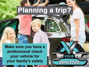 Planning a trip have your vehicle check