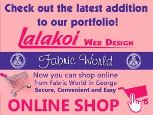 Fabric World George Online Shop by Lalakoi