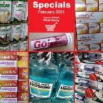 Geneva Pharmacy George-February Specials