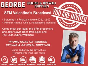 George Ceiling and Drywall SFM Broadcast