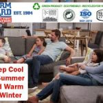 Thernguard Keep Cool in Summer and Warm in Winter