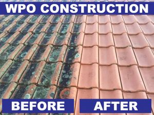 High Pressure Roof Cleaning in George