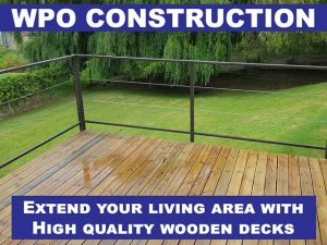 WPO Construction quality wooden decks